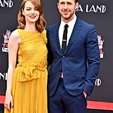 Ryan Gosling and Emma Stone at Hand and Footprint Ceremony