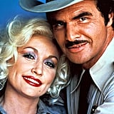 While Starring in a Film With Burt Reynolds in 1982, Dolly Parton Wore Blue Eye Shadow and Red Lips