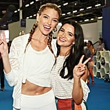 Pictured: Martha Hunt and Katie Stevens