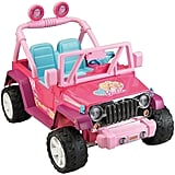 Barbie Ride-On Jeep Wrangler