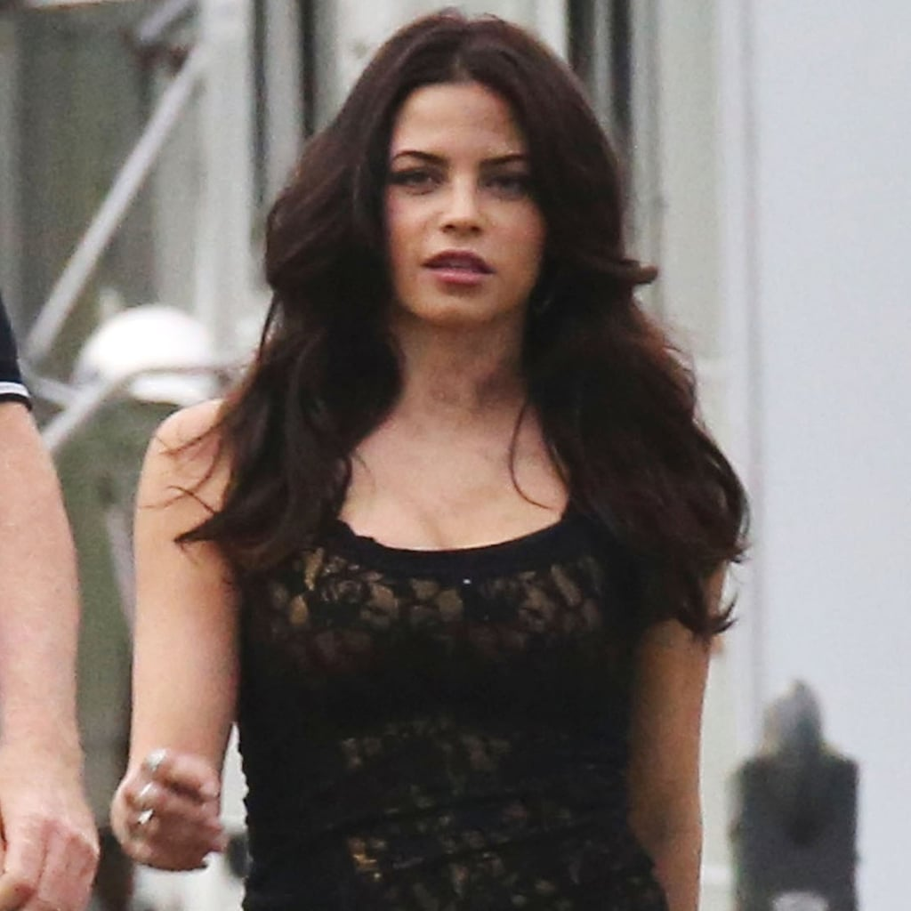 Jenna Dewan on Witches of East End Set   Pictures