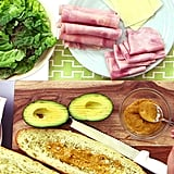 Ham, Cheese, and Avocado Sandwich