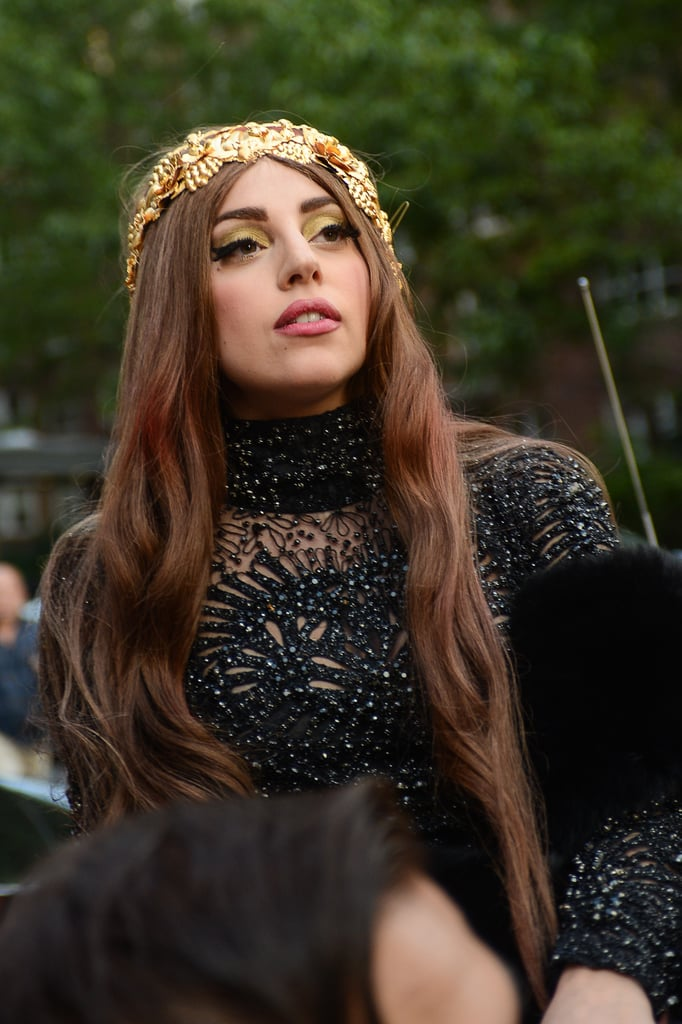 What Is Lady Gaga S Natural Hair Color Popsugar Beauty