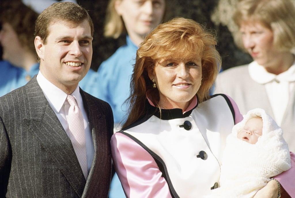 Princess Eugenie, March 1990
