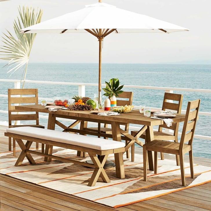 Best Outdoor Furniture From West Elm | POPSUGAR Home