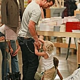 Pictures of Kingston and Zuma Shopping With Gavin Rossdale