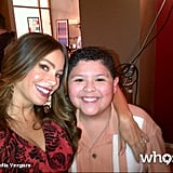 Sofia Vergara and Rico Rodriguez reported to the set of Modern Family. Source: Sofia Vergara on WhoSay