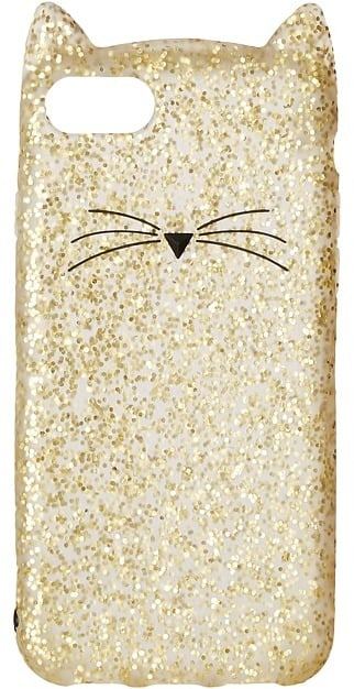 Kate Spade Glitter Cat Phone Case for iPhone® 7