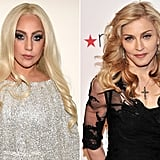 September: Lady Gaga vs. Madonna