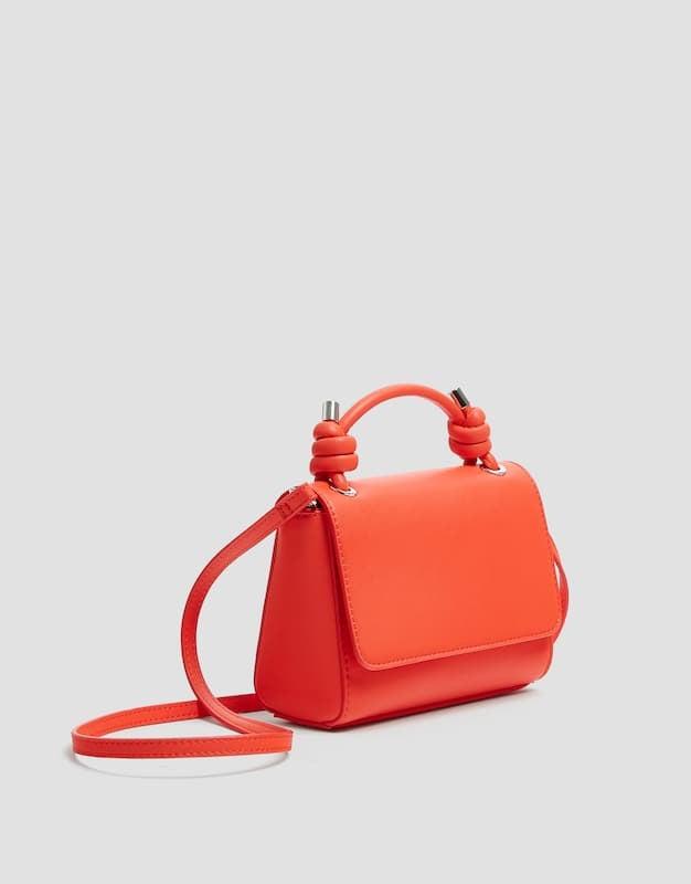 Pull&Bear Crossbody Bag With Knots