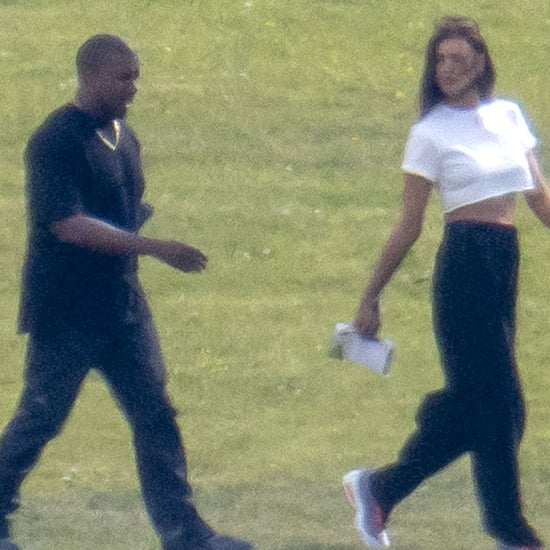 See Photos From Kanye West and Irina Shayk's Trip to France