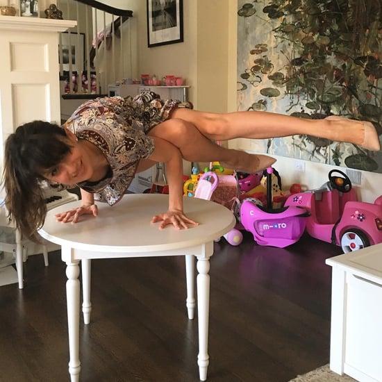 Hilaria Baldwin Yoga Inspiration