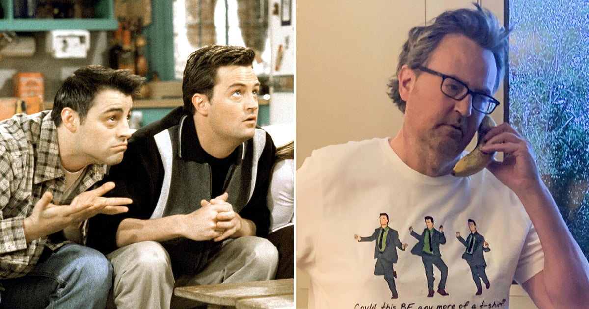Matthew Perry Just Dropped a Chandler Bing Merch Collection — Could This BE Any More Amazing?