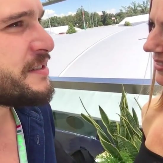 Geri Horner and Kit Harington Instagram Video