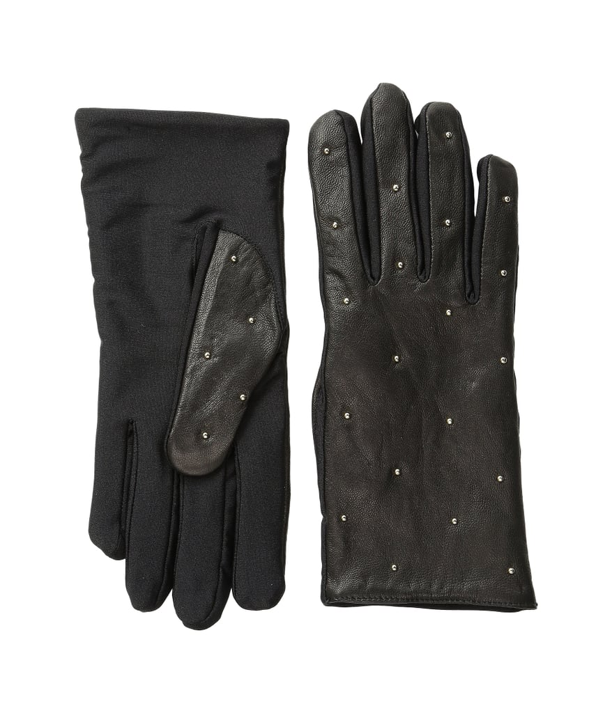 Vera Bradley Micro-Stud Leather Gloves