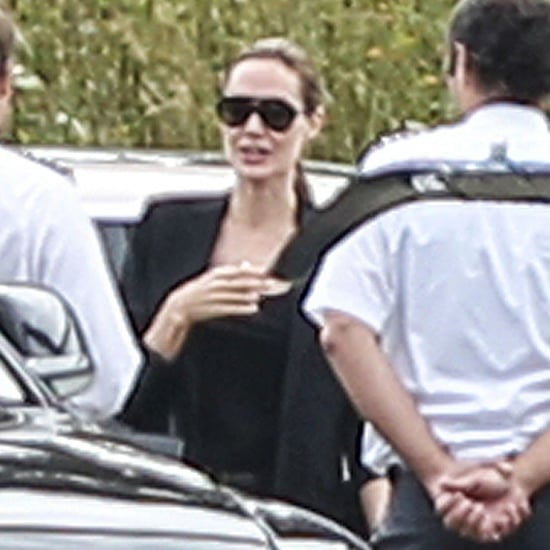 Angelina Jolie and Maddox in London   Photos