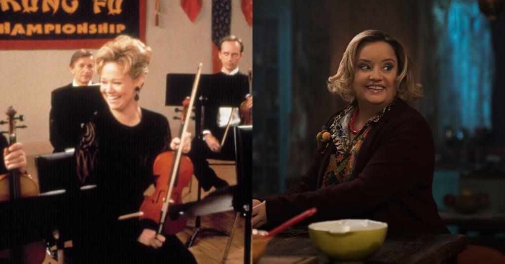 Left: Caroline Rhea Right: Lucy Davis