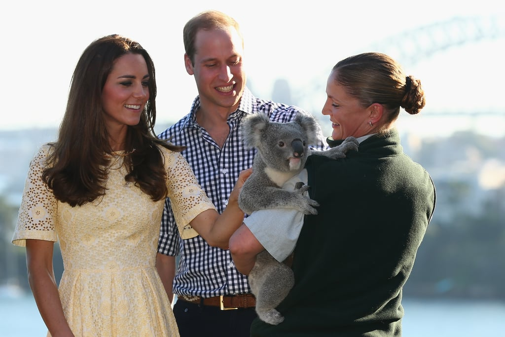 Pictures of the Royals With Animals