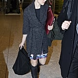 Photos of Rachel McAdams Arriving at JFK and GMA