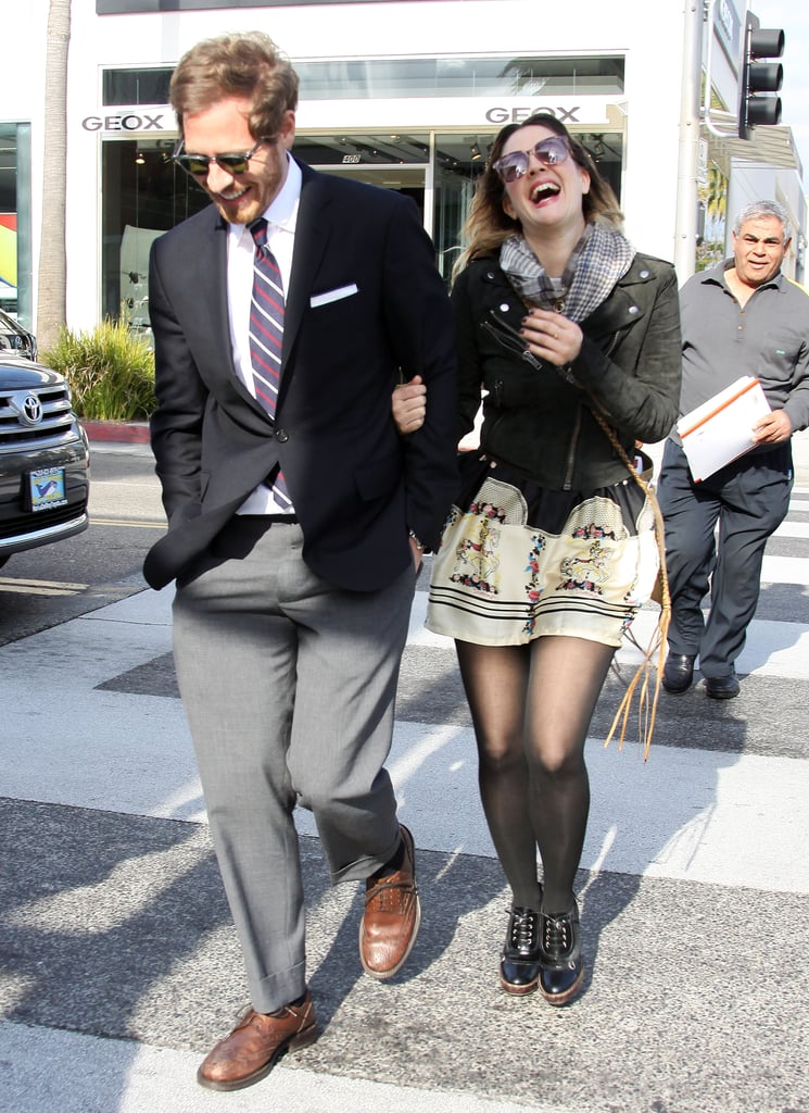 In February 2011, Drew and Will laughed and lunched in LA.