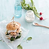 Kayla Itsines's Salmon Burger