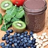Blueberry-Mango-Kiwi Smoothie