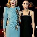 Pictured: Cate Blanchett and Rooney Mara