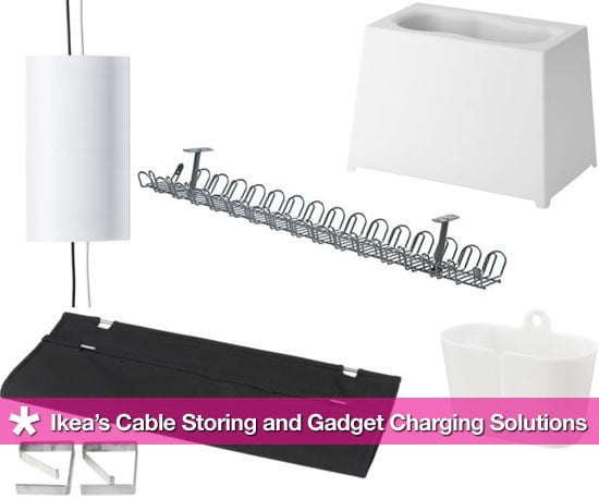Ikea's Affordable Cable Management and Gadget Charging Solutions