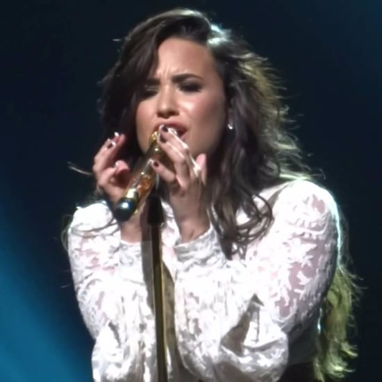 "Demi Lovato Singing Adele ""When We Were Young"" Video"