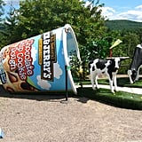The Ben & Jerry's factory in Waterbury is the biggest tourist attraction in Vermont; about 200,000 people visit annually and take the tour.