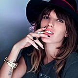 Lou Doillon, Chapeau Lauren Speciale for Opening Ceremony