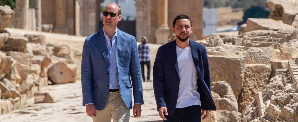 Prince William Middle East Tour Pictures June 2018