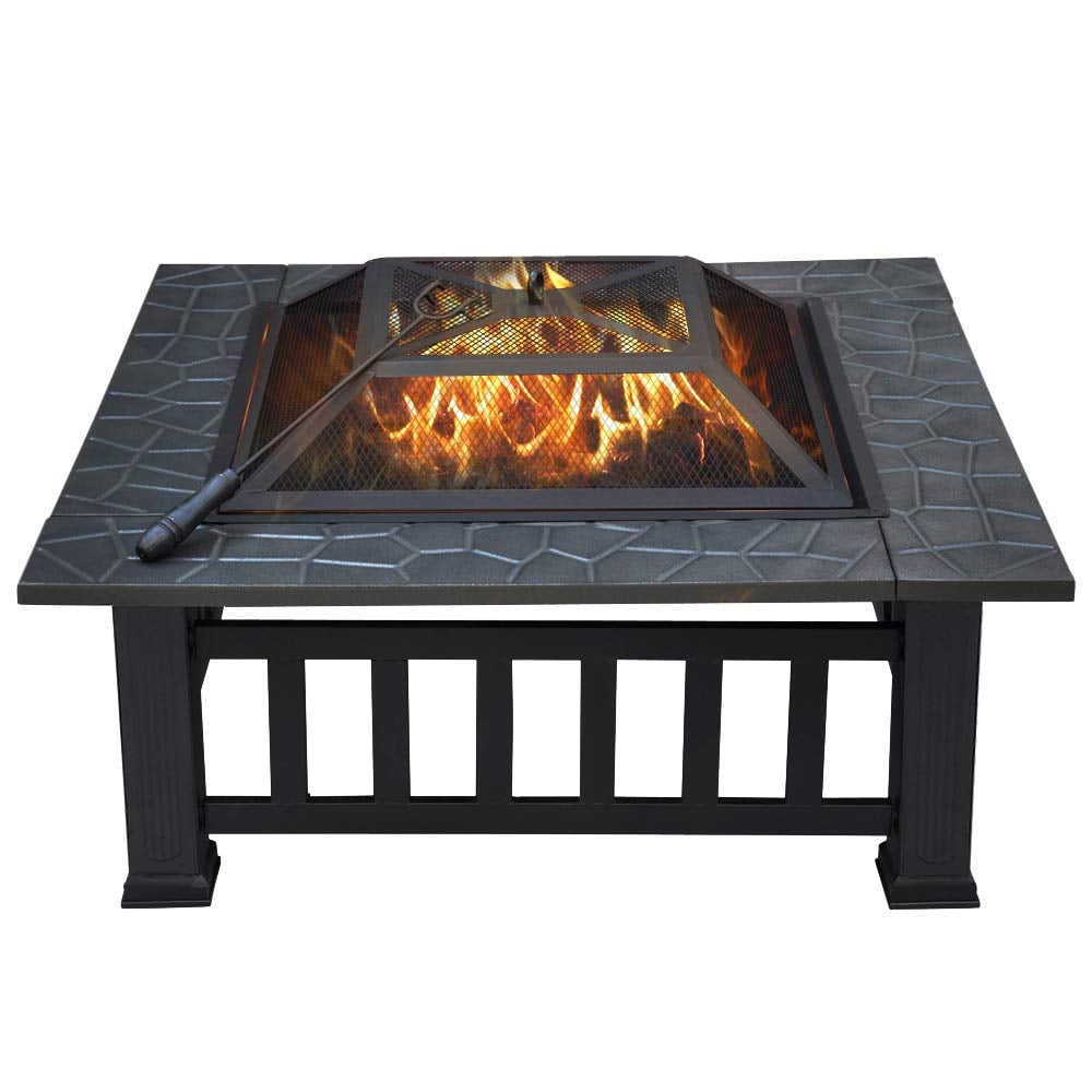 Yaheetech Outdoor Metal Fire Pit | Best Outdoor Fire Pits | POPSUGAR Home Photo 50