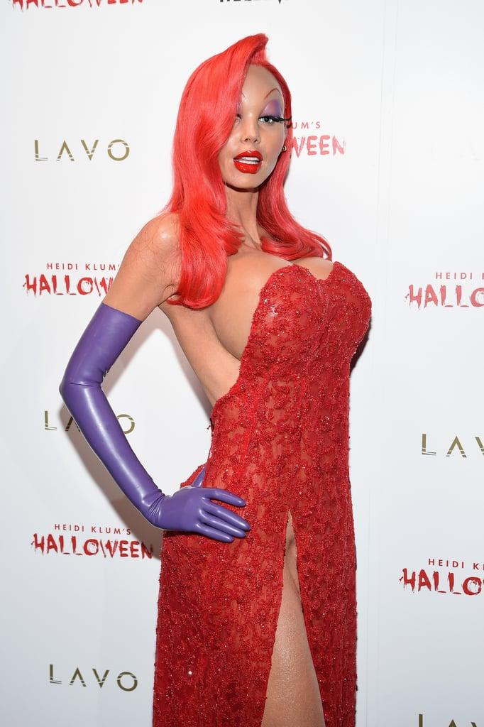Heidi Klum as Jessica Rabbit