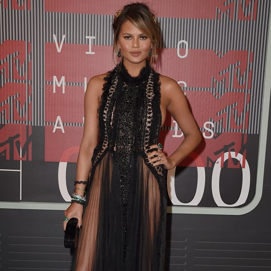 Chrissy Teigen Dress at VMAs 2015