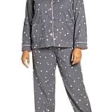 PJ Salvage Print Flannel Pajamas