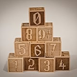 Harry Potter Themed Number Blocks (0 through 9 3/4)