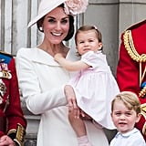 Princess Charlotte and Kate's mommy-and-me outfits go back to 2016, and they're totally adorable.