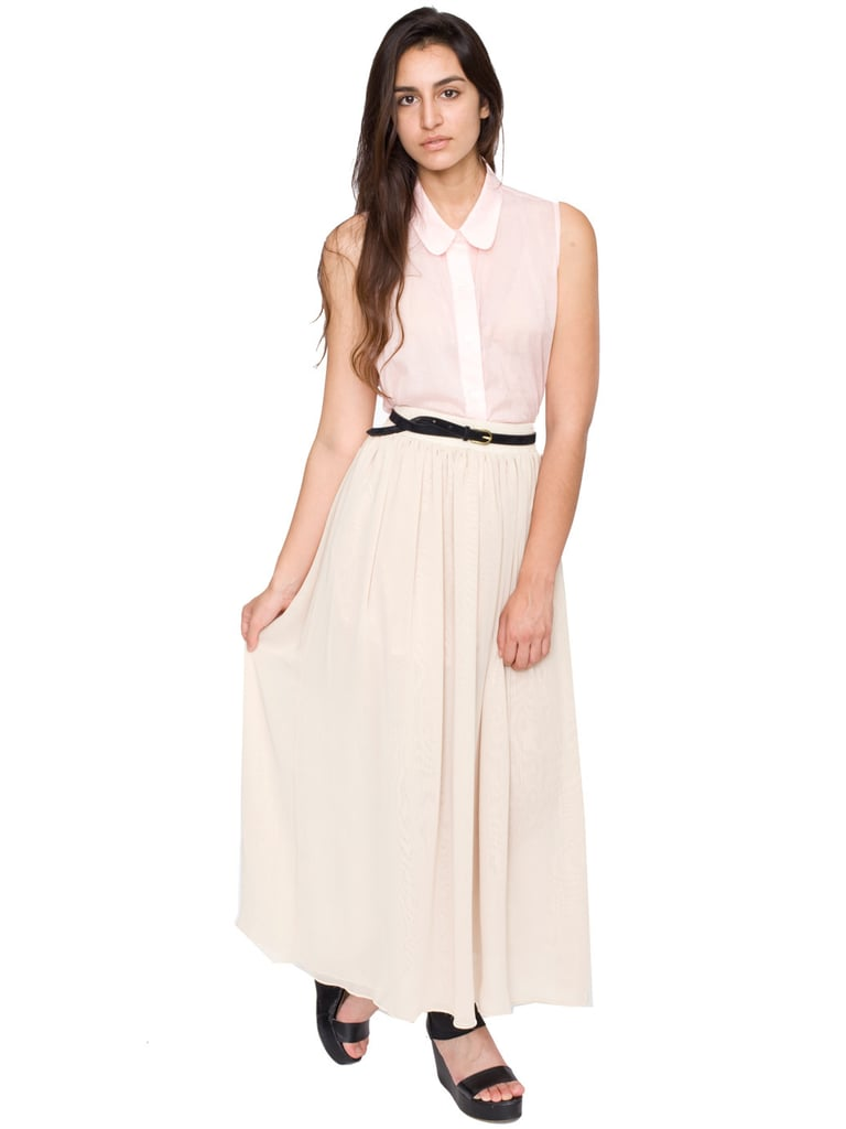 A Luxe, Full-Length Skirt ($58)