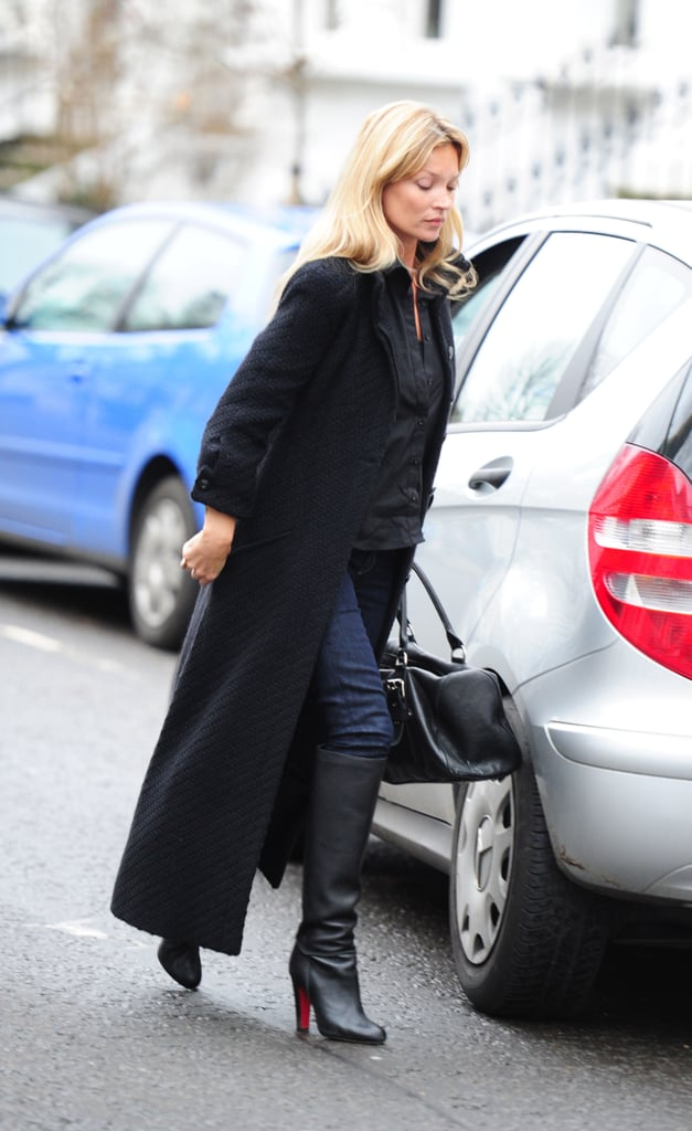 Kate Moss wore a long coat to visit to a friend in Notting Hill yesterday, after viewing a house for sale in North London. The supermodel saw in the New Year in Thailand, but she returned home in time to start planning her birthday party. Kate turns 37 on Sunday, and has held big bashes over the last few years. Last year she celebrated with diamonds, in 2009 she held a medieval banquet, and when she turned 35 Kate went star crazy with four parties. We joined in the fun by testing how well you know her.