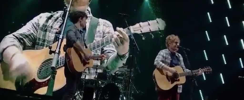 """Shawn Mendes Fans Go Ballistic During His Surprise Duet of """"Mercy"""" With Ed Sheeran"""