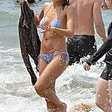 Jessica Alba's Blue Bikini in Hawaii 2016