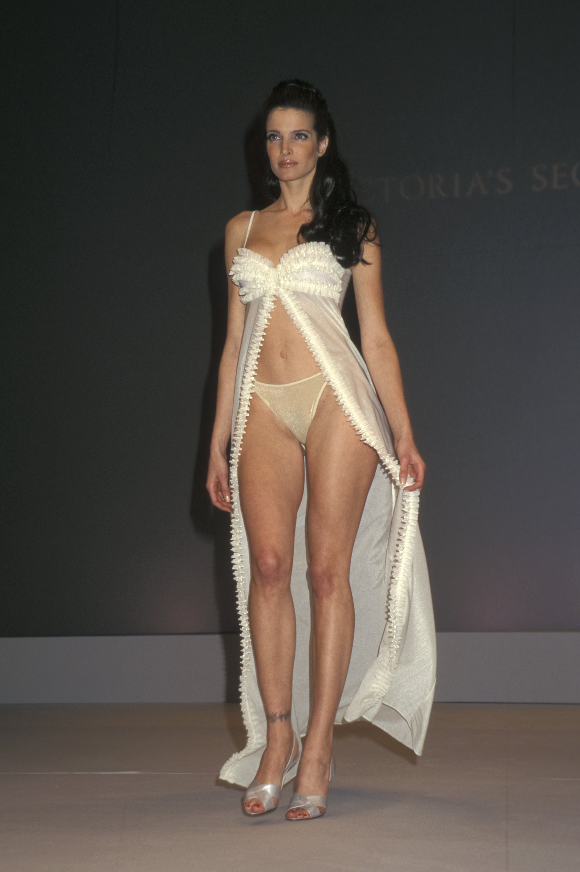 Stephanie Seymour walked the runway in 1997.
