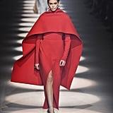 Kaia Gerber on the Givenchy Fall 2020 Runway at Paris Fashion Week