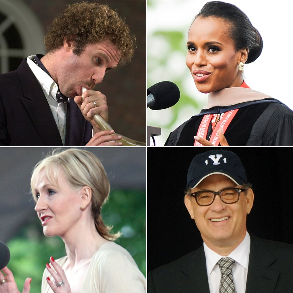 15 Inspiring Celebrity Commencement Speeches | Mental Floss
