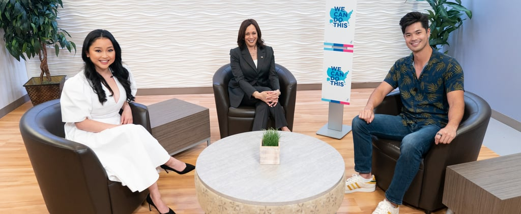 Kamala Harris, Lana Condor, Ross Butler Talk Vaccinations