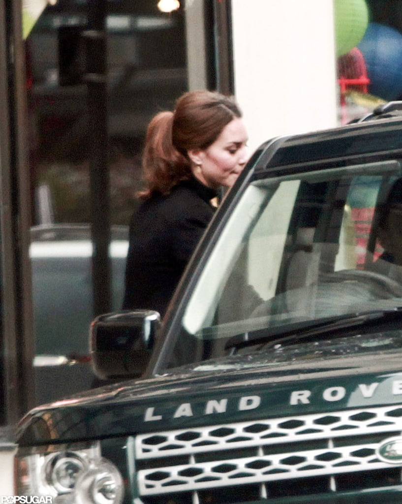 Kate Middleton Looks Sleek on a Shopping Trip