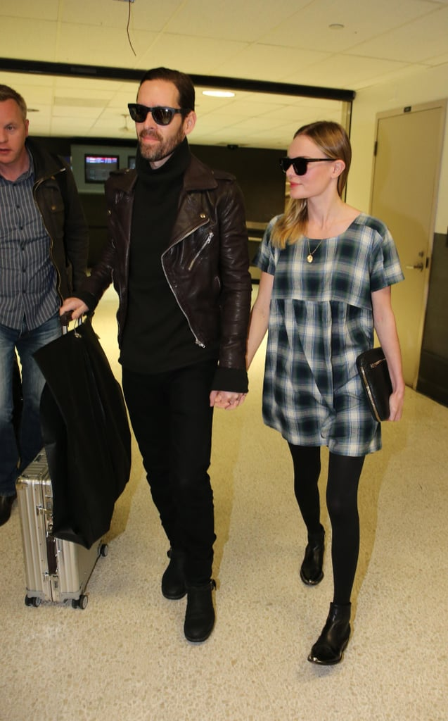 Kate and Michael Return to LA Following a Loving Stay in London