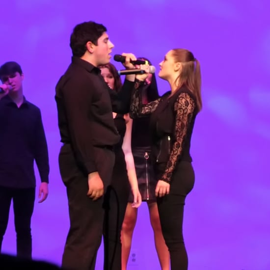 "New Jersey High School A Cappella Group Performs ""Shallow"""
