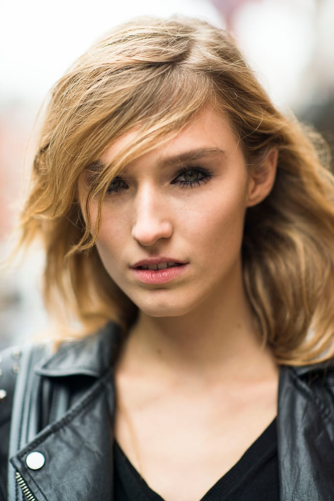 This girl's loads of liner and mascara are the perfect incarnation of the ever-popular grunge trend. Source: Le 21ème | Adam Katz Sinding